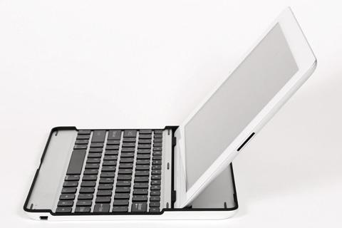 キーボード内蔵アルミケース for iPad2