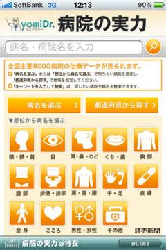病院の実力 for iPhone