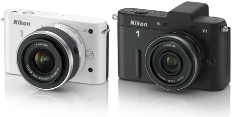 Nikon 1 J1 V1