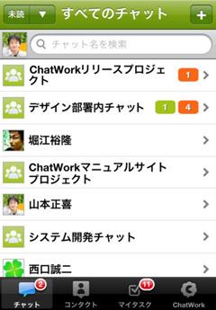 チャットワーク - iPhone版