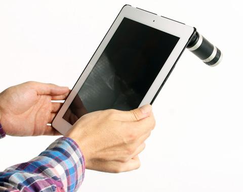 iPad2 6倍望遠 レンズカバーキット