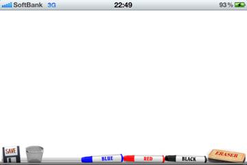 ホワイトボード for iPhone