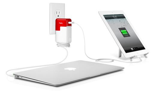 フォーカル、MacBookの電源アダプタにUSB出力を追加するアダプタ「PlugBug」を発売