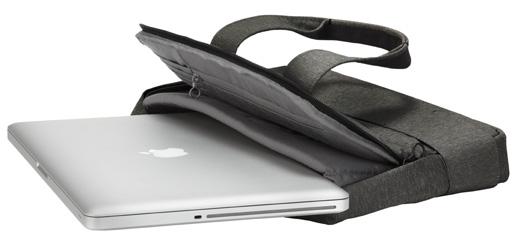 プレアデス、落ち着いた風合いの13〜17インチ用3WAYラップトップキャリア「Cote&Ciel Laptop Carrier 2011」