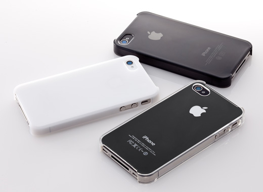Simplism Crystal Cover Set for iPhone 4S