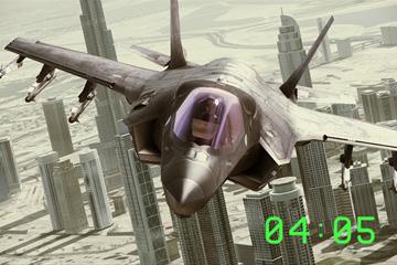 戦闘機時計