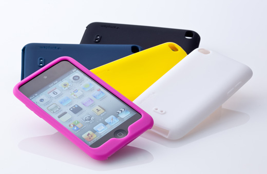 Silicone Case Set for iPod touch (4th)