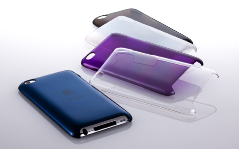 Crystal Cover Set for iPod touch (4th)