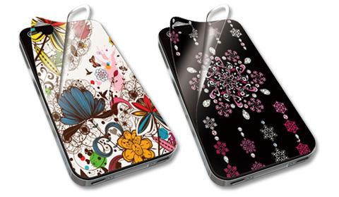 iPhone4/4S用 インクジェットステッカー