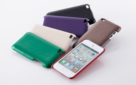 Leather Cover Set for iPod touch (4th)