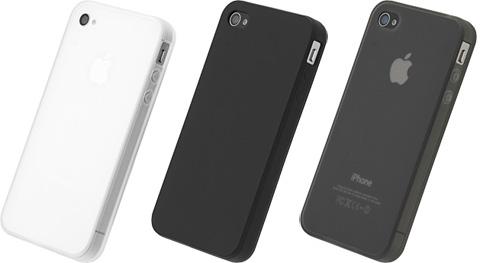 iPhone 4S/4用シリコーンジャケットセット