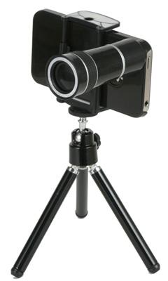 iPhone4 10倍望遠レンズカバーキット