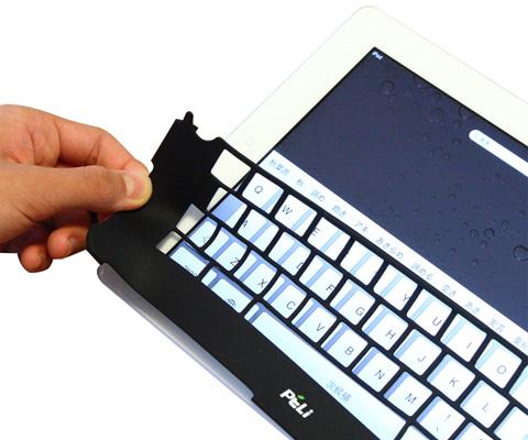 iPadキーボードワクシリコン