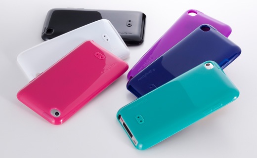 Semi Hard Case Set for iPod touch (4th)