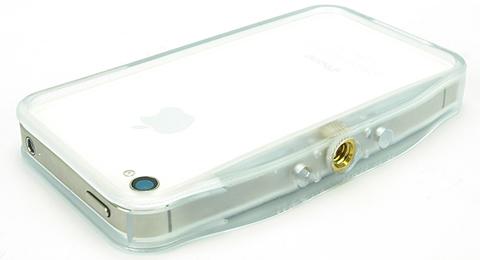 Tripod pro adaprtor bumper for iPhone4S/4