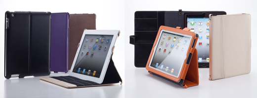 Leather Flip Note for iPad / Smart Leather Shell for iPad