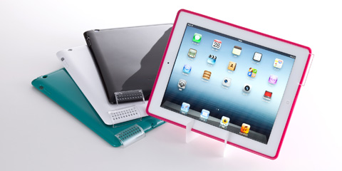 Simplism Semi Hard Case Set for iPad