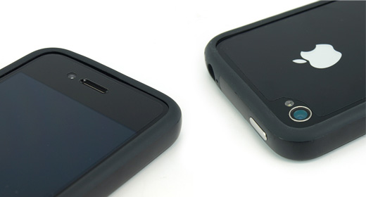Small Cut Film for Case User (iPhone4S/4)