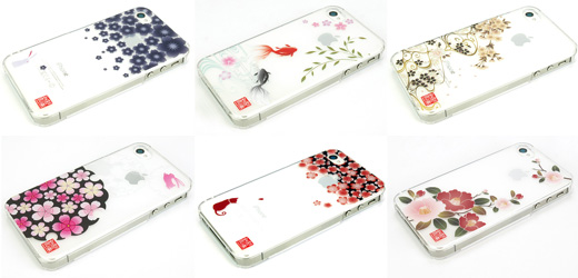 和彩美『ふるる』:Phone4S/4用堅装飾カバー透し