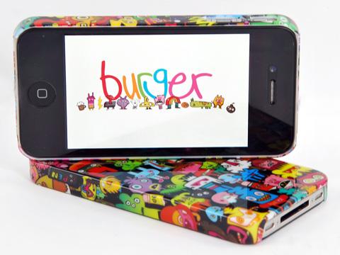 Burgerdoodles iPhone 4S/4 Case