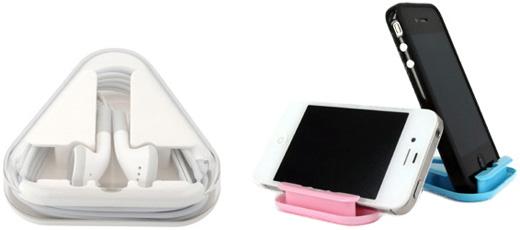 MacGizmo Pocket 2 Way Holder for Apple Headphones