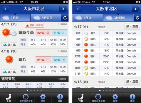 Yahoo!天気・災害