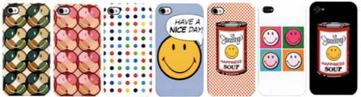 Case Scenario SMILEY for iPhone 4S/4