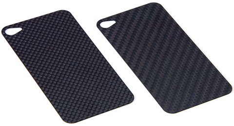 Carbon back panel #01 for  iPhone 4S / iPhone 4