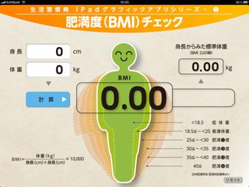 肥満度(BMI)チェック