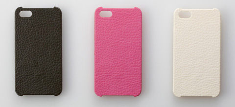 Jigen Series 3D Textured Cover for iPhone 4/4S Leather