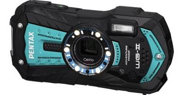 Optio WG-2 シャイニーブルー
