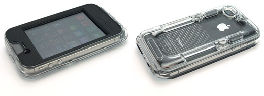 Waterproof case for iPhone4S/4
