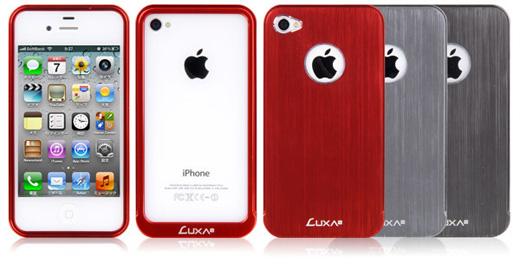 Luxa2 Alum X-All Aluminum iPhone4/4S Case
