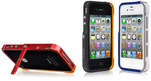 Luxa2 Alum Armor iPhone 4/4S Stand Case