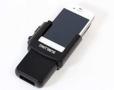iPhone用バーコードリーダー (BSSLMS3B)