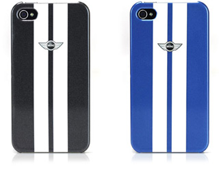 MINI Stripes Hard Case for iPhone 4S/4