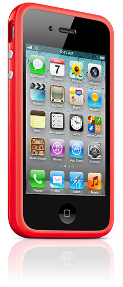 Apple iPhone 4 Bumper - (PRODUCT) RED