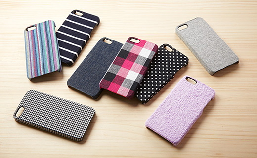 Fabric Cover Set for iPhone 5