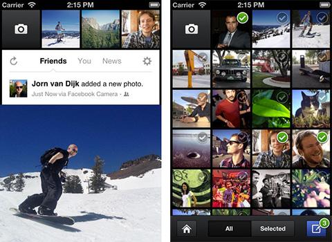 Facebookカメラ