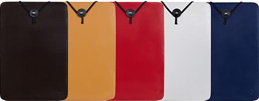 トリニティ、スリムさと実用性を兼ね備えたMacBook Air / Pro / Retina用スリーブケースの本革バージョンを発売