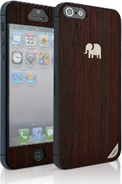 TRUNKET wood skin for iPhone5