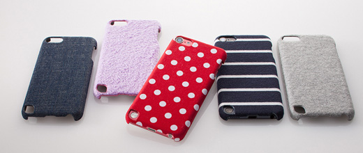 Fabric Cover Set for iPod touch(5th)