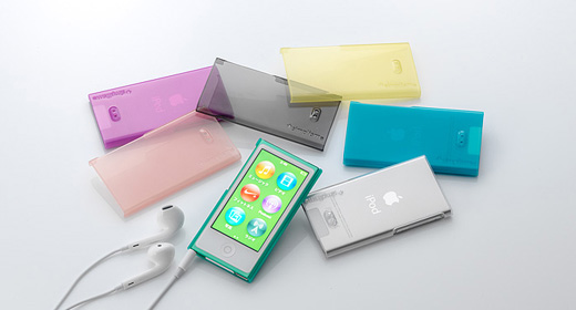 Crystal Cover Set for iPod tnano (7th)