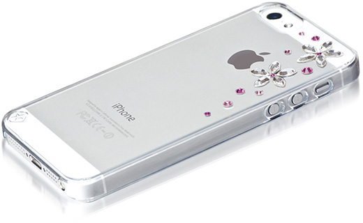 Bling My Thing iPhone 5 Flowers 2