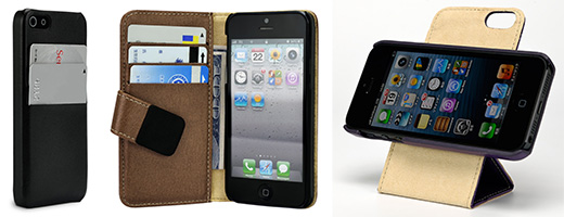 Leather Pocket/Leather Book/Leather Flip 360° for iPhone5
