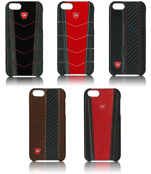 Lamborghini Leather Case for iPhone 5