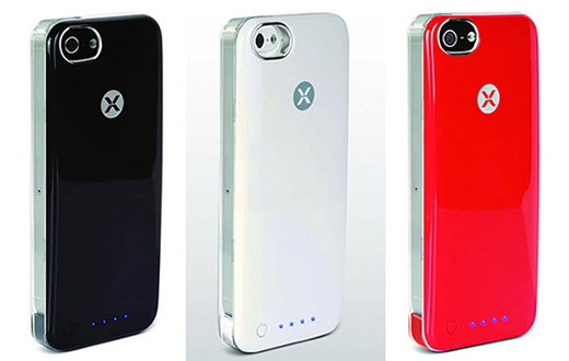 iPhone5専用バッテリー内蔵カスタムカバー