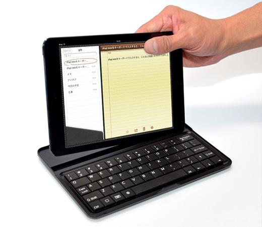 iPad mini 用 ワイヤレス モバイラーズ キーボード