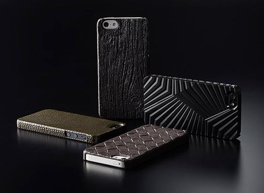 次元シリーズ iPhone 5用 3Dテクスチャーカバー