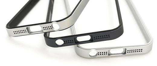 フラットバンパーセット for iPhone 5